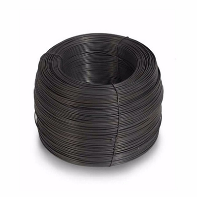 black soft binding wire