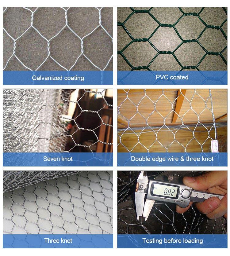 Stainless steel chicken wire mesh